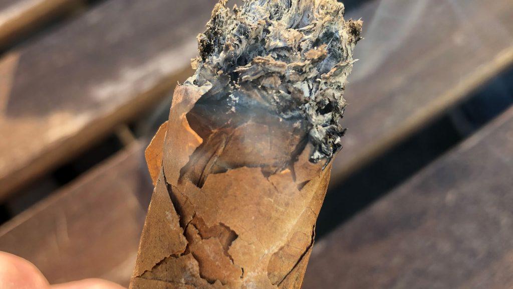 over humidified cigar