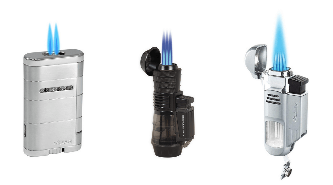 Multiple Flame Lighters