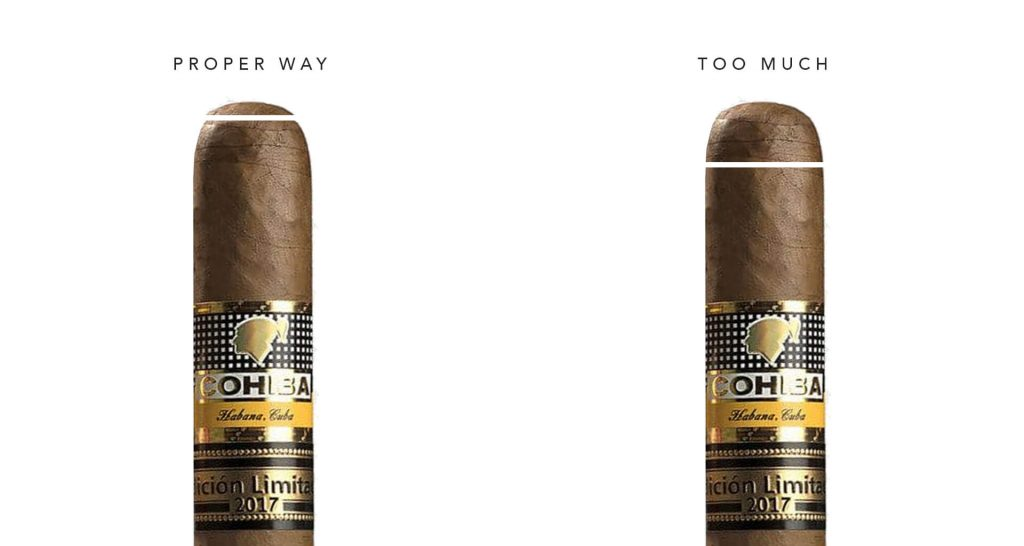Cut your cigar the right way